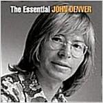 [중고] john denver / essential(2cd, 수입)