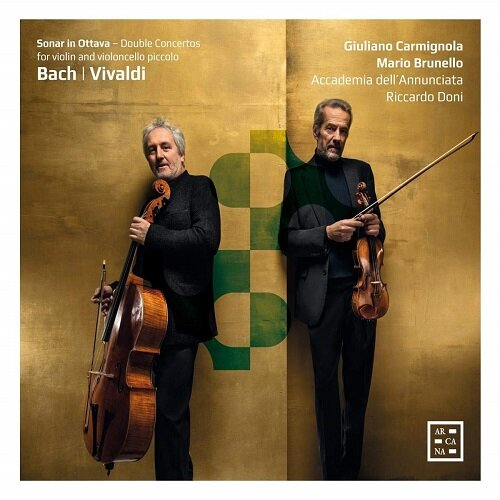 [수입] 바흐 & 비발디 : 바이올린과 첼로 피콜로를 위한 더블 콘체르토 [디지팩]