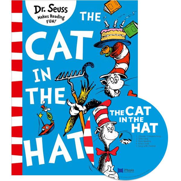 노부영 The Cat in the Hat (Paperback + CD, New)