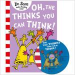노부영 Oh, the Thinks You Can Think! (Paperback + CD, New)
