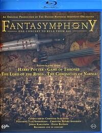 [수입] [블루레이] 영화음악 콘서트 'Fantasymphony'
