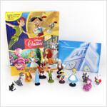 Disney Classics My Busy Book 디즈니 클래식 비지북 (미니피규어 12개 + 놀이판)