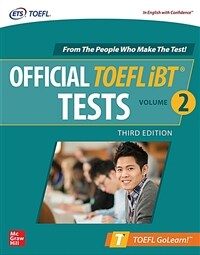 Official TOEFL IBT Tests Volume 2, Third Edition (Paperback, 3)