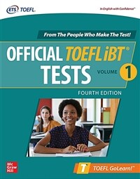 Official TOEFL IBT Tests Volume 1, Fourth Edition (Paperback, 4)