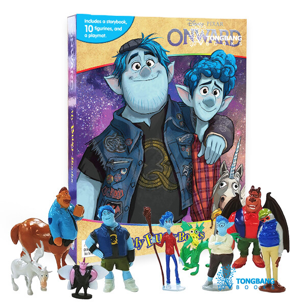 Disney Onward My Busy Books 디즈니 온워드 비지북 (미니피규어 10개 + 놀이판)