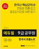 2021 에듀윌 9급 공무원 한국사 흐름노트