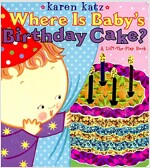 Where Is Baby's Birthday Cake? (Board Books)