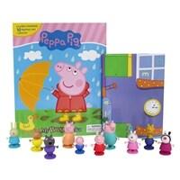 Peppa Pig My Busy Book 페파피그 비지북 (미니피규어 10개 + 놀이판)