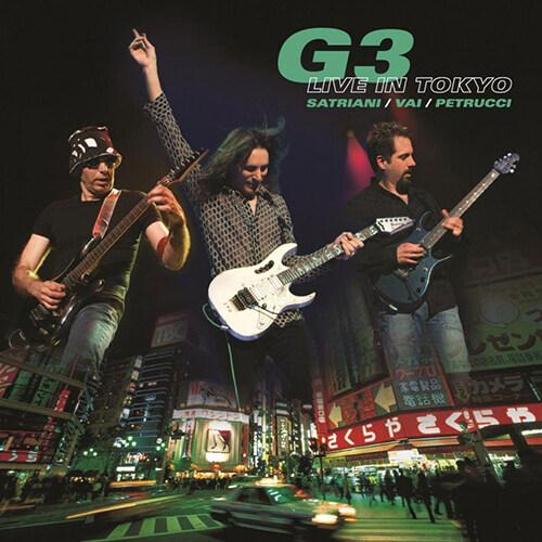[수입] G3 - G3 Live in Tokyo [180g 그린 컬러 3LP]