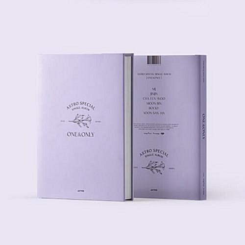 [중고] 아스트로 - 스페셜 싱글앨범 ONE&ONLY [한정반]