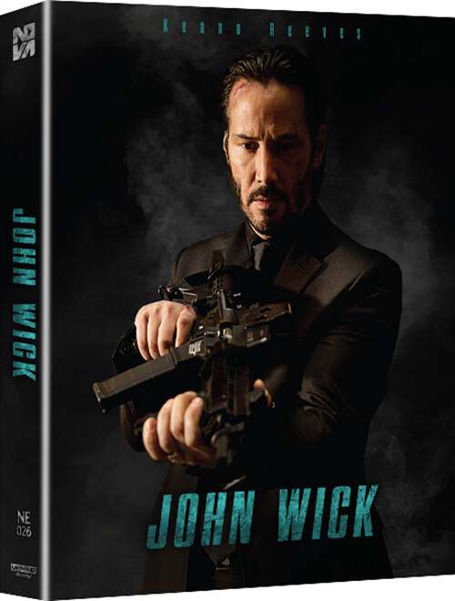 [4K 블루레이] 존윅 1 : 풀슬립 스틸북 한정판 (4K UHD Only)
