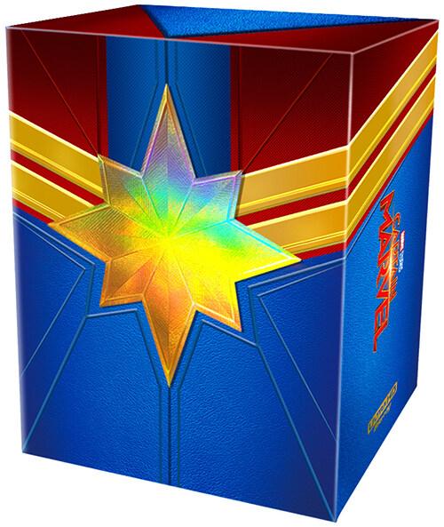 [4K 블루레이] 캡틴 마블 : 원클릭 박스 스틸북 한정판 (6disc: 4K UHD + 2D)