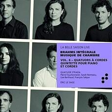 [수입] 브람스 : 현악사중주 전곡 & 피아노 5중주 [2CD]