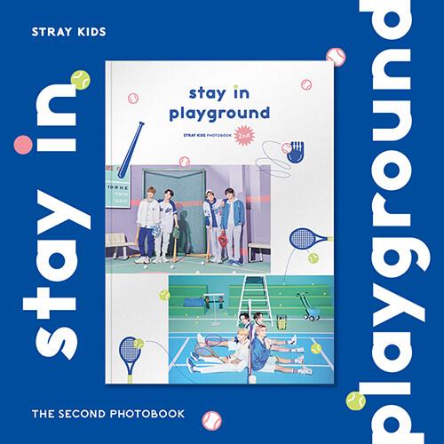 [포토북] 스트레이키즈 - STRAY KIDS 2nd PHOTOBOOK : stay in playground