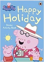 Peppa Pig: Happy Holiday Sticker Activity Book (Paperback)