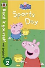 Peppa Pig: Sports Day - Read it yourself with Ladybird : Level 2 (Paperback)