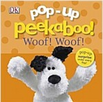 Pop-Up Peekaboo! Puppies (Board Book)