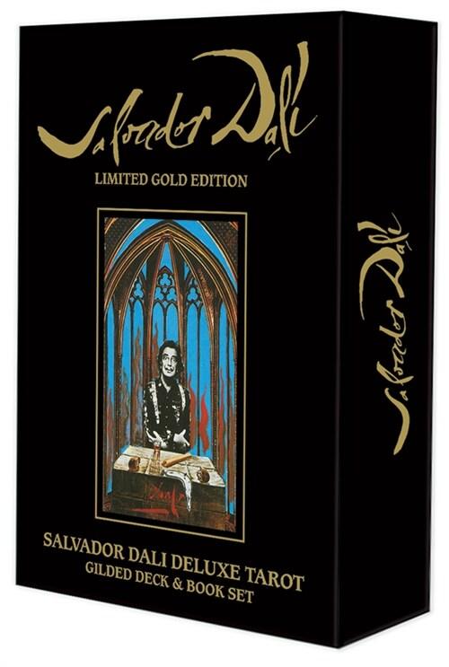 Salvador Dali Deluxe Tarot : Gilded Deck and Book Set (Kit)