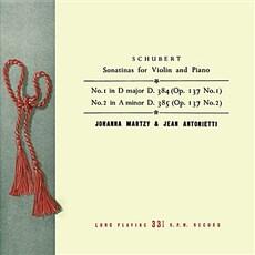 슈베르트 : 바이올린과 피아노를 위한 작품 전집 1집 [180g LP]