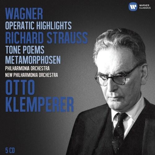 [수입] 바그너 : 오페라 / 슈트라우스 : 교향시 [5CD 한정반]