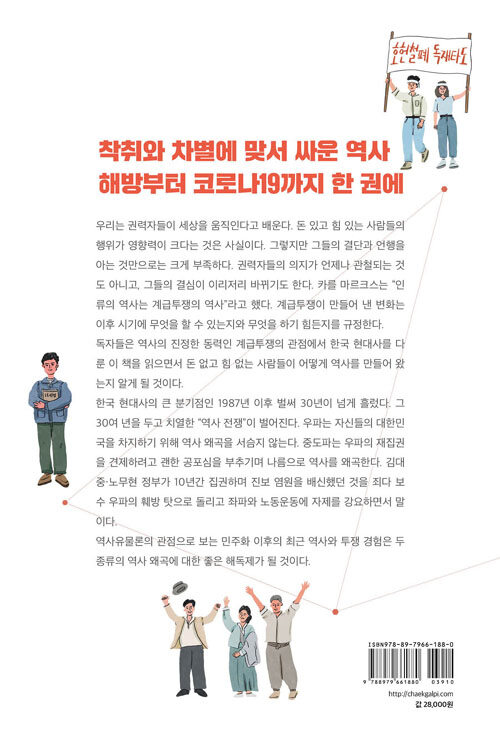 최근 한국 현대사 : 해방부터 문재인 정부까지 역사유물론으로 보기
