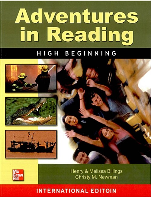 Adventures in Reading High Beginning : Students Book (Color Edition, Paperback)