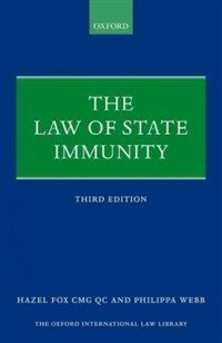 The law of state immunity 3rd ed