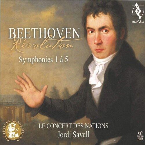 [수입] 베토벤 : 교향곡 1-5번 [3SACD Hybrid 디지팩]