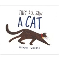 They All Saw a Cat (Paperback)