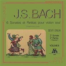 바흐 : 무반주 바이올린을 위한 소나타와 파르티타 2집 [180g LP]