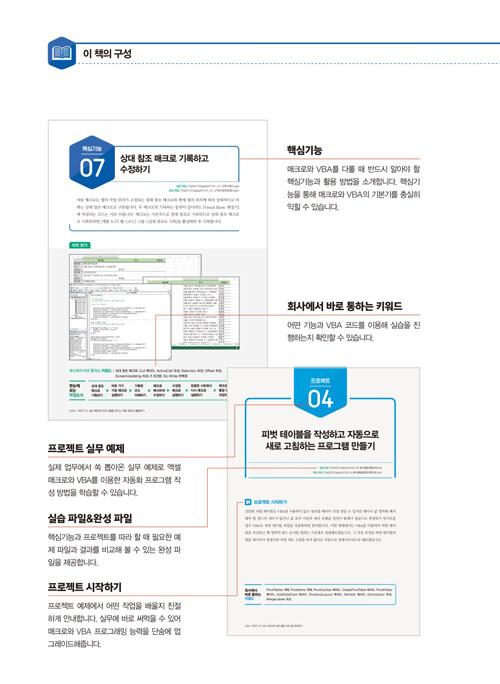 (회사에서 바로 통하는) 실무 엑셀 매크로&VBA : 모든 버전 사용 가능