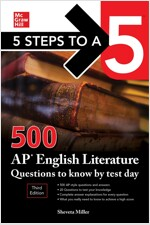 5 Steps to a 5: 500 AP English Literature Questions to Know by Test Day (Paperback, 3rd Edition)