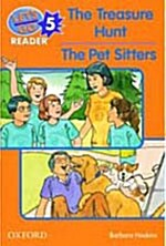 Lets Go Readers: Level 5: The Treasure Hunt/Pet Sitters (Paperback)
