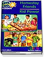 Lets Go Readers: Level 6: Homestay Friends/Kid Power (Paperback)