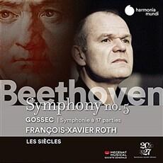 [수입] 베토벤 : 교향곡 5번 / 고세크 : 17인의 목소리를 위한 교향곡 [디지팩]