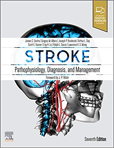 Stroke: Pathophysiology, Diagnosis, and Management (Hardcover, 7)