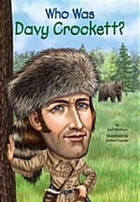 Who Was Davy Crockett? (Paperback)