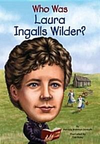 Who Was Laura Ingalls Wilder? (Paperback)