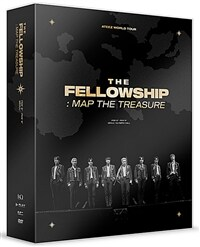 ATEEZ(에이티즈) - ATEEZ WORLD TOUR THE FELLOWSHIP : MAP THE TREASURE SEOUL DVD (2disc)