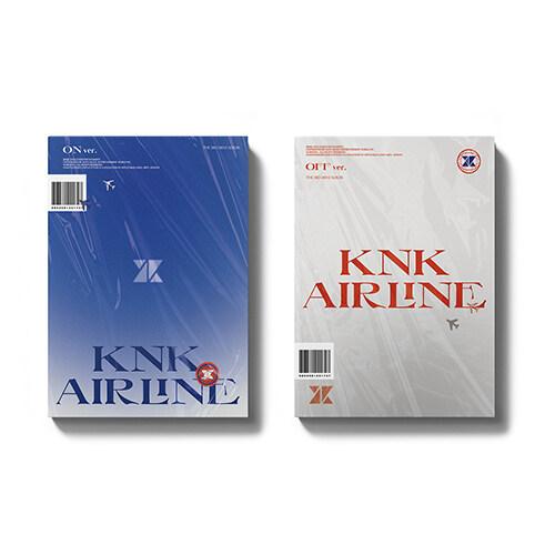 [세트] 크나큰 - 미니 3집 KNK AIRLINE [ON+OFF Ver.]