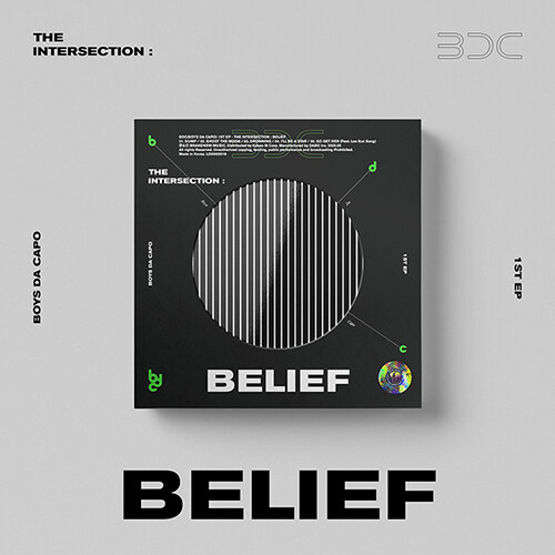 [중고] 비디씨 - EP 1집 THE INTERSECTION : BELIEF [MOON Ver.]