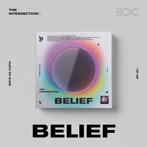 [중고] 비디씨 - EP 1집 THE INTERSECTION : BELIEF [UNIVERSE Ver.]