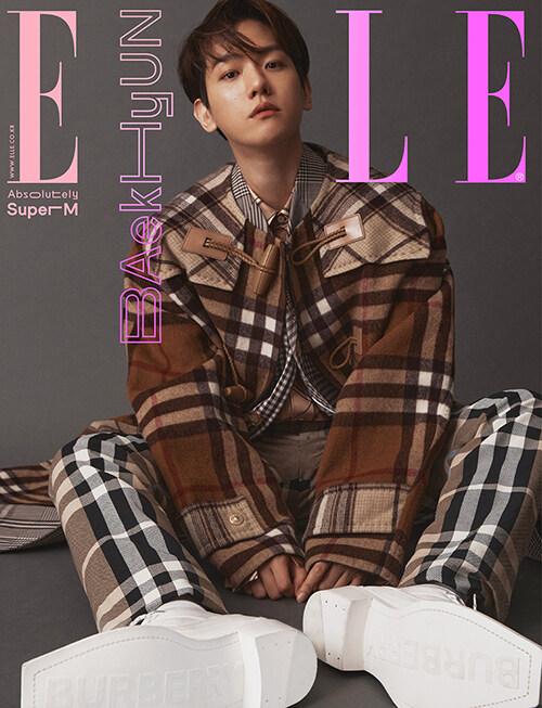 엘르 Elle C형 2020.10 (표지 : 백현)