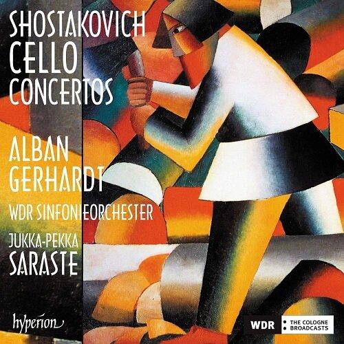[수입] 쇼스타코비치 : 첼로 협주곡 1번, 2번