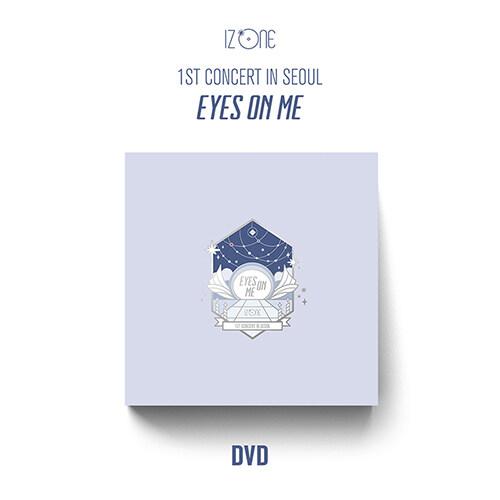 아이즈원 - 1ST CONCERT IN SEOUL : EYES ON ME [3DVD]