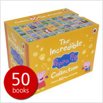 페파피그 인크레더블 원서 50권 박스 세트 - Peppa Pig Incredible: 50 Book Box Set