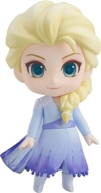 넨도로이드 겨울왕국2 엘사 Blue dress Ver.