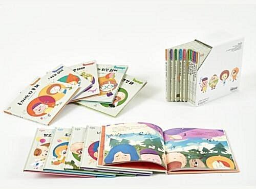 초등 사회성 공감 그림책, 마노 듀얼스토리북(1-10권)