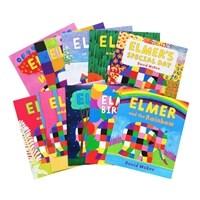 Elmer 그림책 원서 10권 세트 (Paperback 10권)
