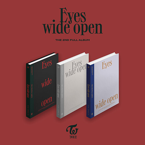 트와이스 - 정규 2집 Eyes wide open [버전 3종 중 랜덤발송](CD알판 10종 중 랜덤삽입)